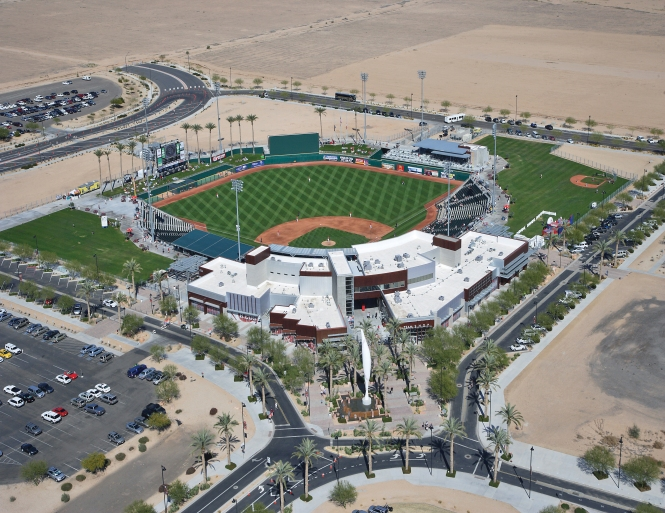 City of Goodyear Main Ball Park Stadium