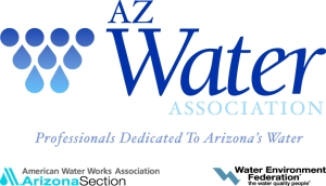 AZ Water-AWWA-WEF logo