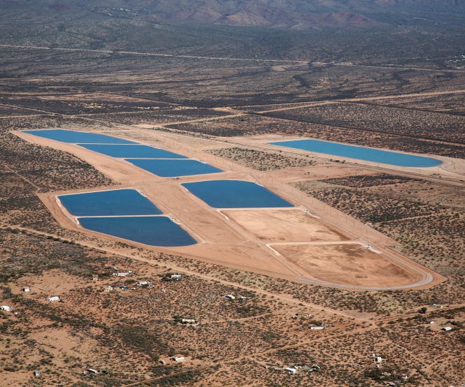 Southern Avra Valley Storage and Recovery Project. Courtesy of Tucson Water.